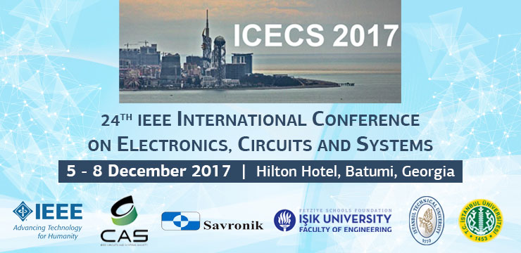 24. IEEE International Conference on Electronics, Circuits and Systems