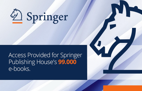Access Provided for Springer's 99.000 e-books.