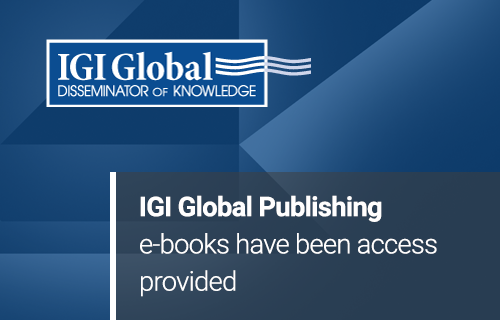 IGI Global Publishing e-books have been access provided