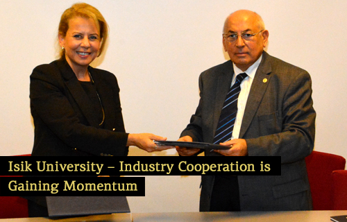 Isik University – Industry Cooperation is gaining momentum